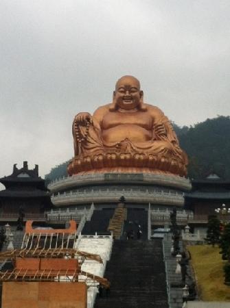 Fenghua Xikou Xuedou Mountain: 弥勒故里!