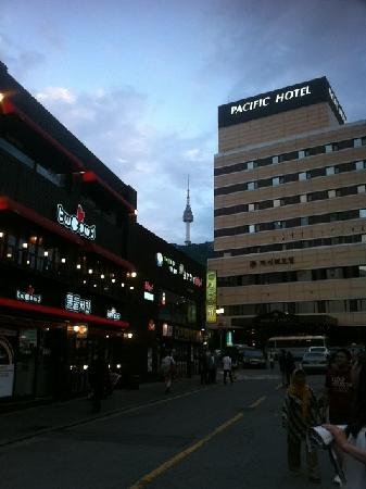 Pacific Hotel: Pacific酒店外景