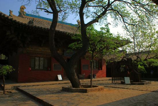 Zhenguo Temple: 镇国寺大殿
