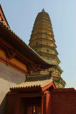 Guangsheng Temple : 广胜寺琉璃塔