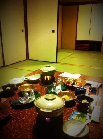 Yokikan: 晚饭