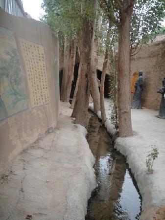 Turpan Kariz underground water system