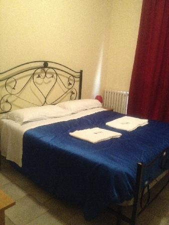 Hotel Mantova: letto