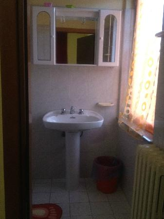 Hotel Mantova: toilette