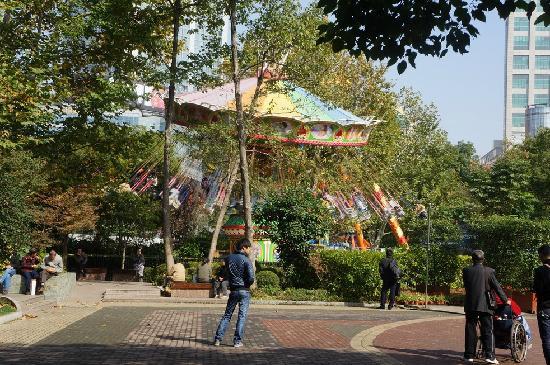 Shanghai Renmin Park: 游乐场