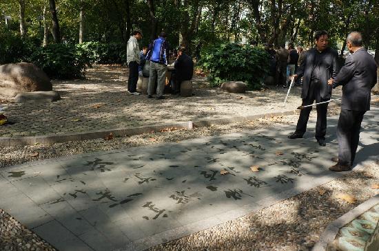 Shanghai Renmin Park: 内景