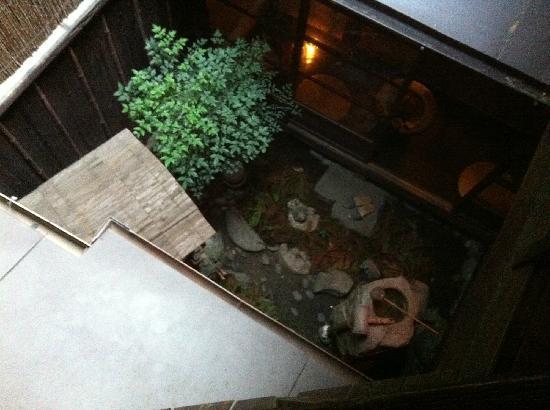 Guest house Rakuza: inter garden