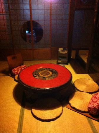 Guest house Rakuza: public lobby
