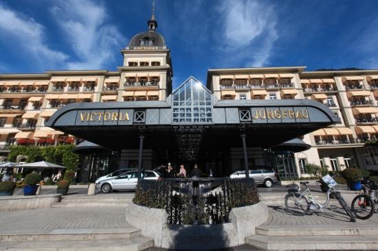 Victoria Jungfrau Grand Hotel & Spa: 外景