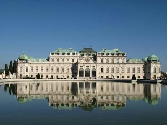 Schloss Belvedere: 仙境