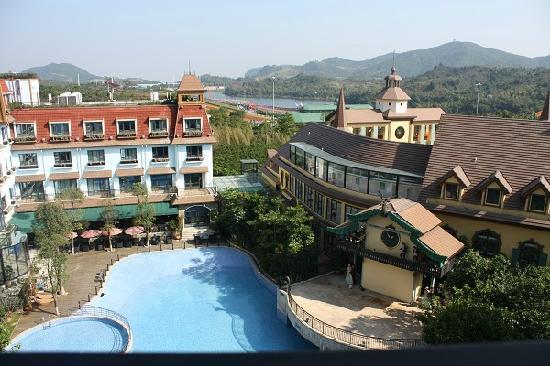 Oasis O.City Hotel Shenzhen: 窗外