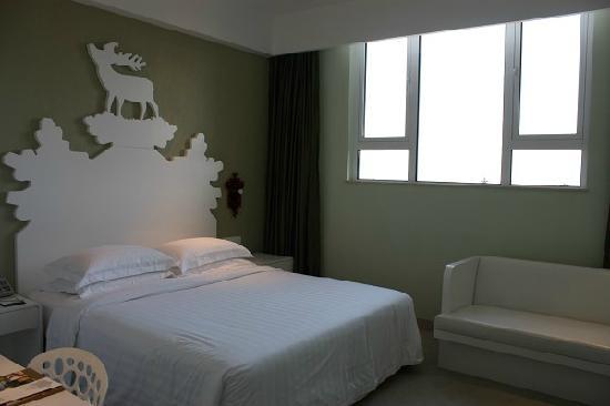 Oasis O.City Hotel Shenzhen: 二楼卧室