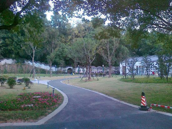 Wuhu Tieshan Hotel: 宾馆小花园