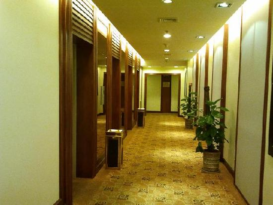 Jiang Tian Hotel: 电梯厅