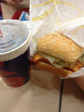 KFC: 烤鸡堡