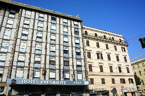 BEST WESTERN Hotel President: 酒店外观