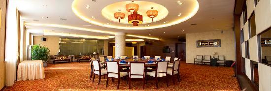 Tai'an County, China: 酒店餐厅