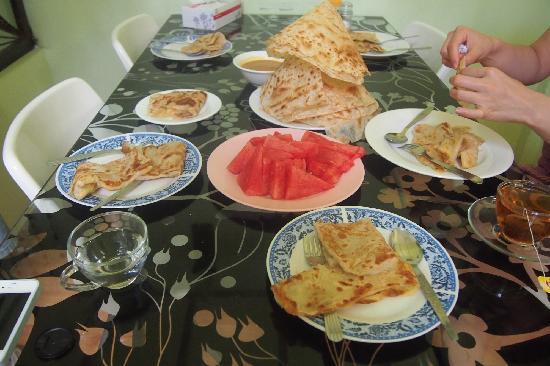 Sarang Rooms : 美味的印度飞饼