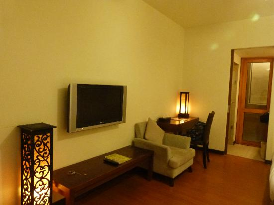 Eastern Hotels Resorts Yangmei: 软软的沙发和复古的藤椅