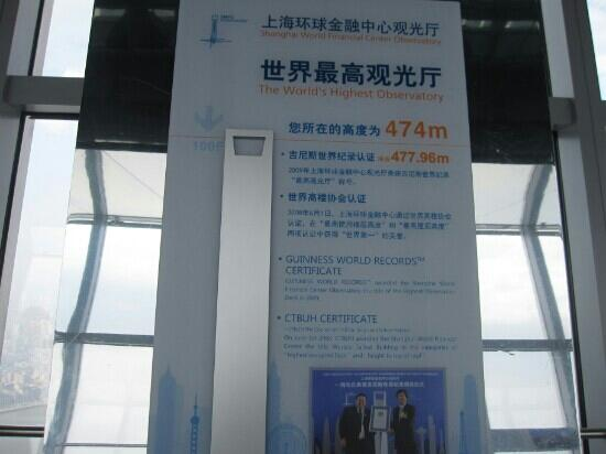 Inside The Swfc Picture Of Shanghai World Financial