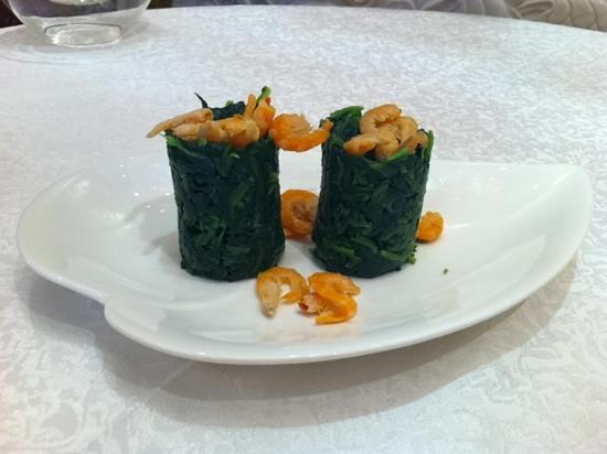 Xiang Gong: 海米菠菜