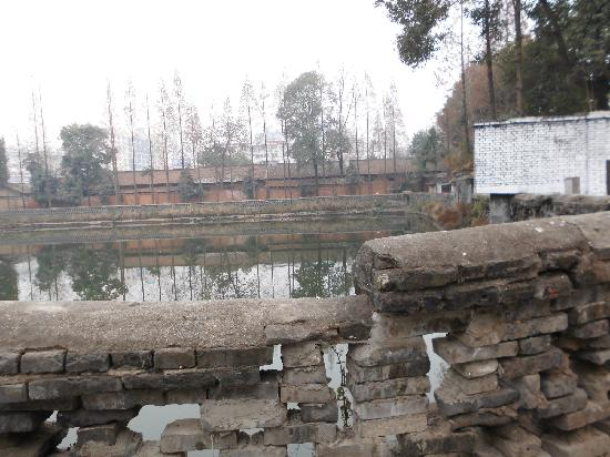 Hanzhong Horsepond: 这是饮马池西北角的现状