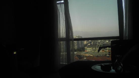 Quzhou Hyatt Hotel : 窗外景色