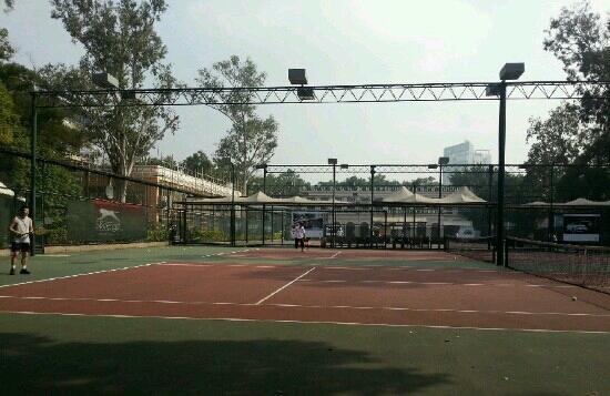 Shamian Tennis Court: 好舒适啊。