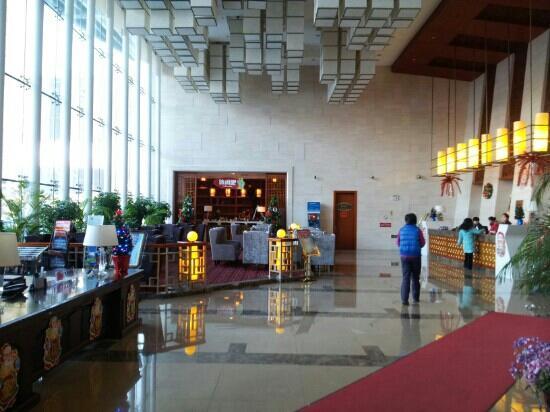 Dongfang Mingyue Business Hotel: 大堂
