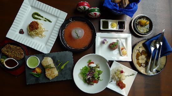 Le Camelia Hotel: 地中海美食