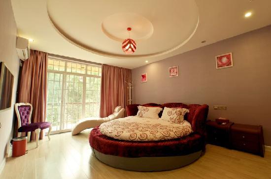 CTN Li River Hotel: 紫色恋人情侣豪华房