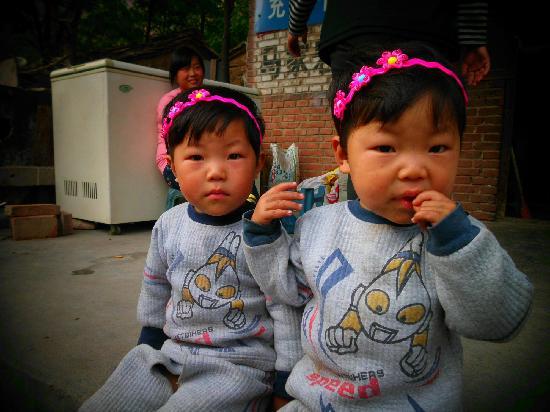Taihang Mountain: kids @ majiayan village