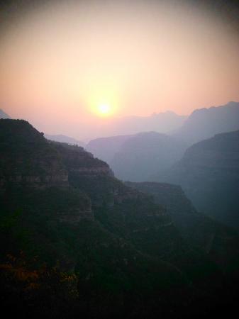 Taihang Mountain: sunset @ taihang