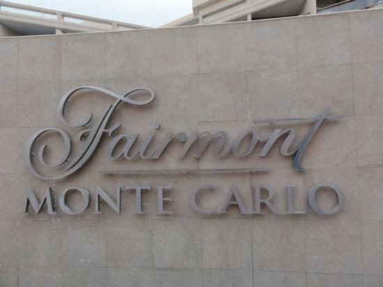 Fairmont Monte Carlo: logo