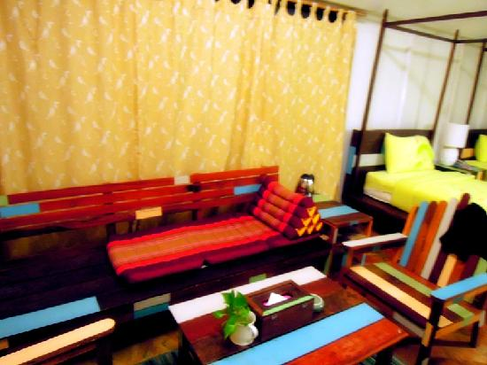 Buritara Resort & Spa: sofa