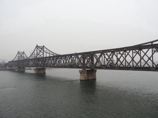 China and North Korea Friendship Bridge : 现在还在使用的中朝友谊桥