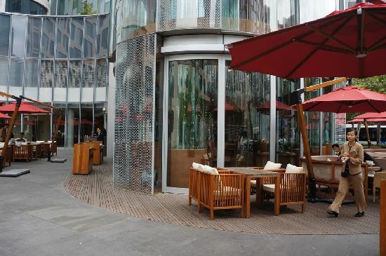Xintiandi Lang Ting Hotel KaiXuan Restaurant: 室外
