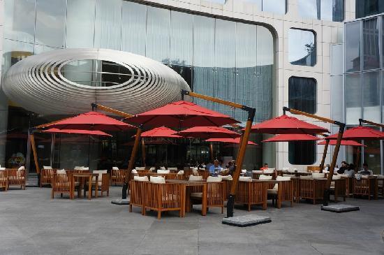 Xintiandi Lang Ting Hotel KaiXuan Restaurant: 室外位