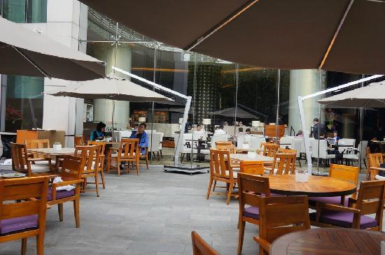Xintiandi Lang Ting Hotel KaiXuan Restaurant: 室外露天位