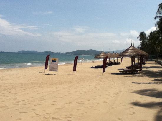 Sheraton Nha Trang Hotel and Spa: 芽庄Sheraton的专属沙滩
