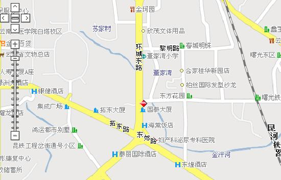 Home Inn (Kunming East Railway Station) : 如家酒店昆明东站店地图