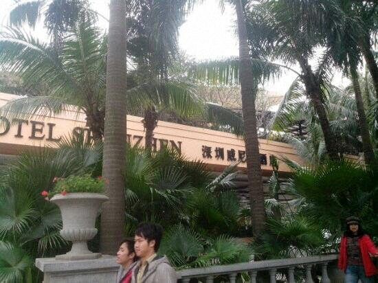 The Venice Raytour Hotel Shenzhen : 外景