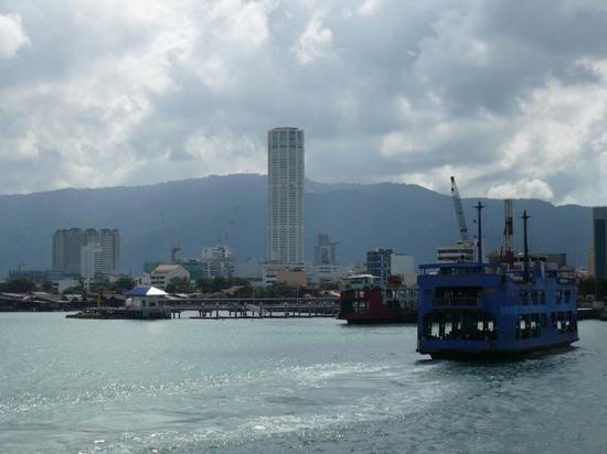 Penang Ferry Terminal: 可以坐去对岸的北海