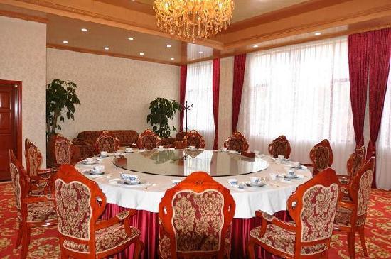 Ruyuan Hot Spring Grand Hotel: 中餐包房