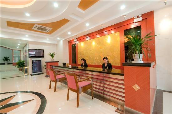 Tiandi Renhe Business Hotel Ji'nan Jingshi Road: 大厅