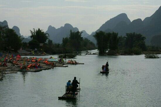 Bamboo Rafting: 竹筏漂流