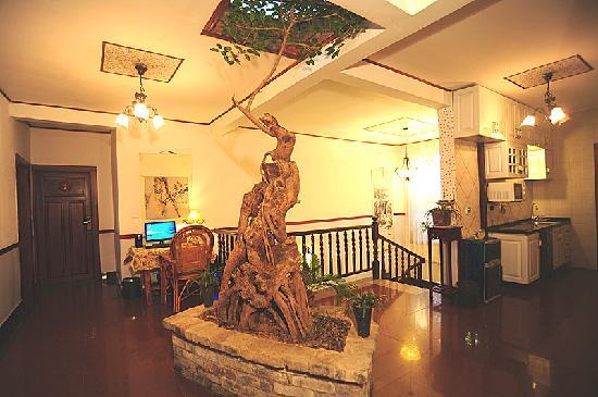 No.1 Yard Hotel Yangshuo: 大院中庭
