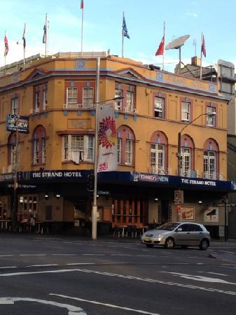The Strand Hotel: strand