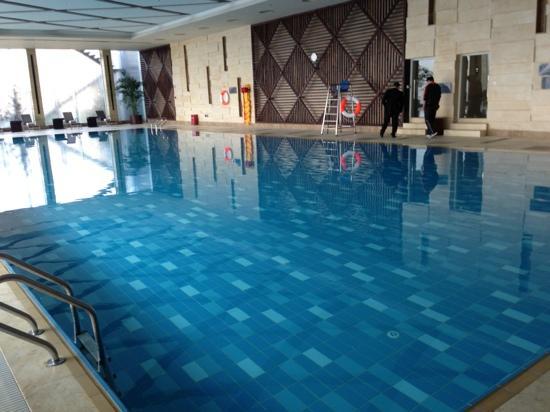 โรงแรมเรอเนสซองซ์ เซี่ยงไฮ้ จงซัน พาร์ค: 游泳池