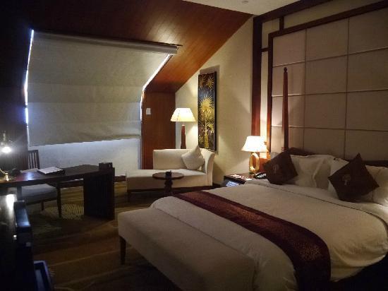Hotels & Preference Haily Binya Resort & SPA : 楼上卧室-大床房